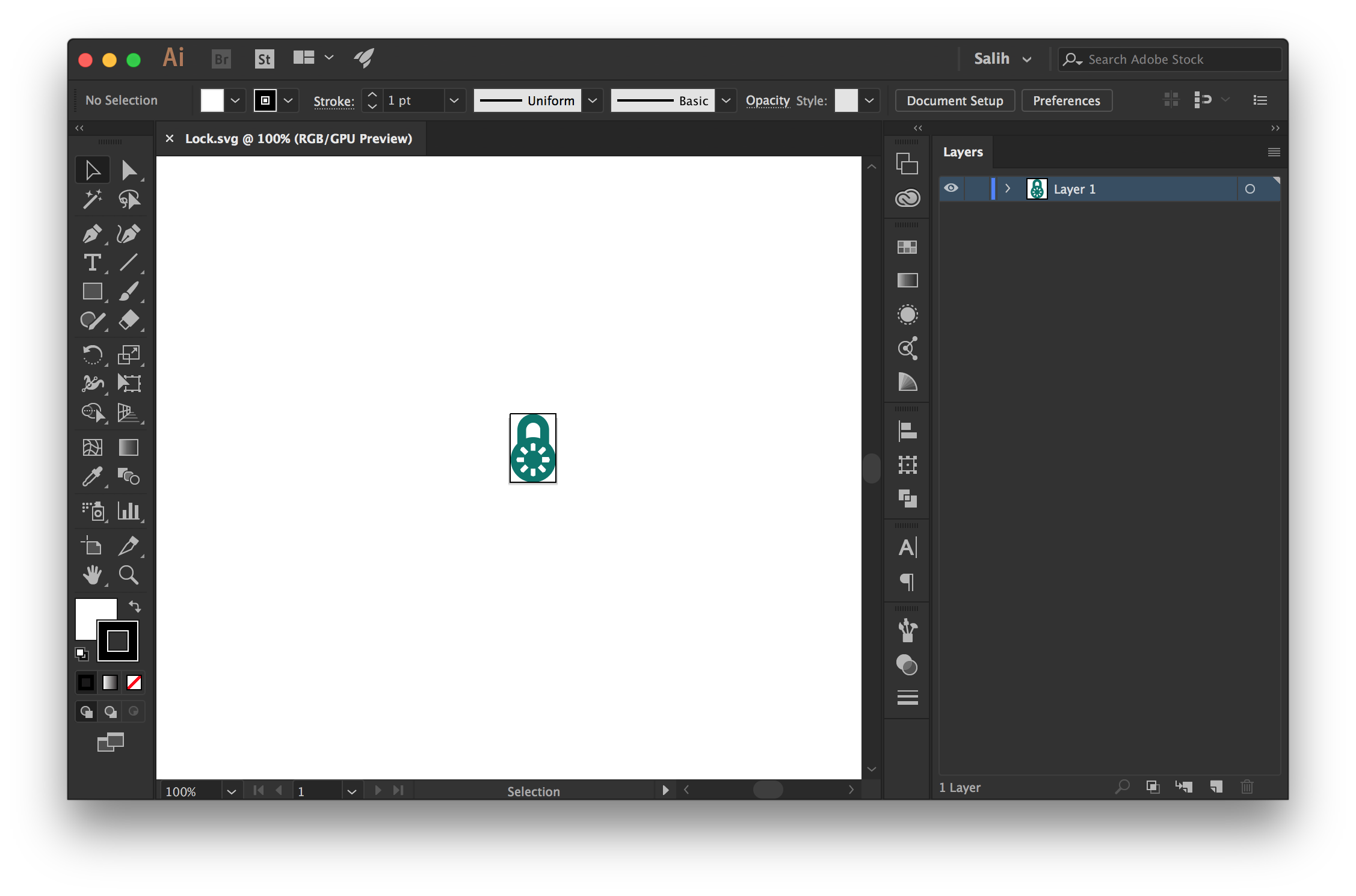 Adobe illustrator walkthrough